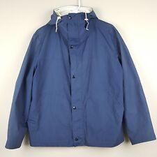 Vintage Kelty Mens Rain Coat Gore Tex Hiking Retro Zip Buttons Large