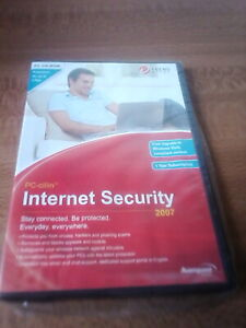 internet security 2007 PC CD Rom Trend Micro  avanquest