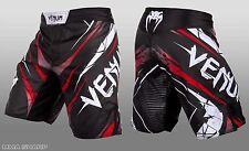 Venum Men's Exploding Fight Shorts MMA Black Large