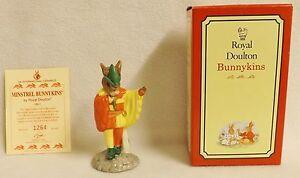 Royal Doulton Rare Limited Edition Bunnykins, Minstrel Bunnykin, No 1264/2500