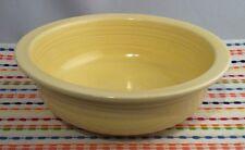 Vintage Fiestaware Ivory Serving Bowl Fiesta 8.5 inch Nappy Bowl