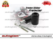 Universal Bike Frame Slider Crash Protector All Indian & Imported Bikes – BLACK