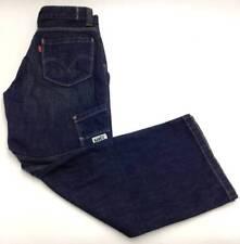 $134 LEVI'S Mens BLUE ORIGINAL FIT ZIP FLY LEG PANTS DENIM JEANS 27 W 27 L
