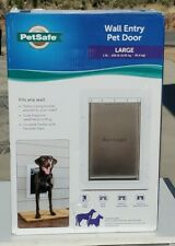 New PetSafe PPA00-16944 - Large Wall Entry Pet Door - White READ
