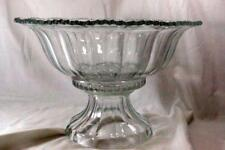 Indiana Glass 1940 Colonial Panel Punch Bowl With Stand 7195/253