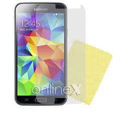 6x Protector Pantalla Antirreflejos  Samsung Galaxy S5 i9600 más 4 Gamuzas 6xa88