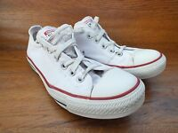 Converse CT All Star White Canvas Trainers Size UK 7 EUR 40