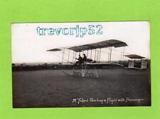 Maurice Tetard with passenger Aviator Aviation RP pc  Harvey Barton Bristol