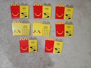 McDonalds Happy Meal Pokemon Combo Deal. Please Read Description N See Pictures