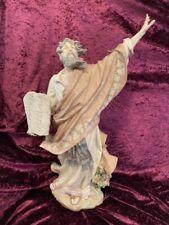 "Rare Lladro Moses And The Ten Commandments #01811 21¼"" Lmtd Ed 1200"