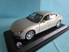 Maserati quattroporte gts ixo altaya pearly grey 1/43 mib