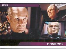 Star Trek Aliens Gold Parallel Base Card # 56 Annorax