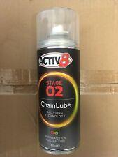 Activ 8  chain lube anti fling Limited offer Sinnis Pulse Lexmoto kawasaki honda