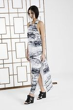 CAMEO The Label Marble Fracture Maxi Dress Size XS NWT