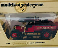 Matchbox Models Of Yesteryear Y13 1918 Crossley Coal & Coke 1978 Lesney