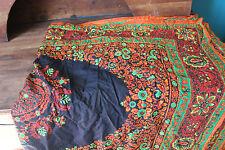Vintage - Kaftan - Robe en tissu guaranteed dutch java- 120 cm x 356 cm