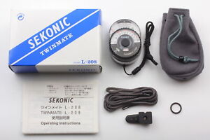 [Almost MINT w/ box ] Sekonic L-208 TwinMate Twin Mate Light Meter From JAPAN