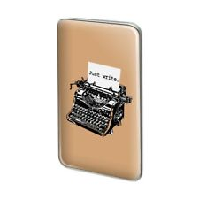 Just Write Antique Typewriter Writer Author Rectangle Lapel Pin Tie Tack