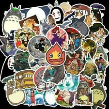 10pcs Totoro Spirited Away Stickers Anime Kaonashi Calcifer - Buy 2 Get 1 Free