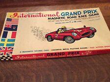 Vintage International Grand Prix Magnetic Road Race Game