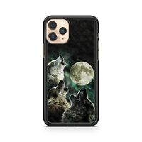 Ultra Powerful Majestic Howling Wolf Animal Full Moon Colourful Phone Case Cover