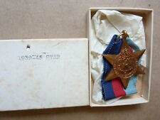 New In The Box WWII British/Canadian 1939/45 Star Medal