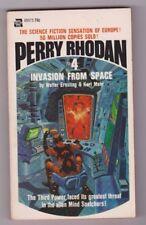 PERRY RHODAN #4 INVASION FROM SPACE by Walter Ernsting & Kurt Mahr 1st print