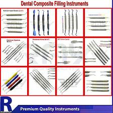 Dental Composite Filling Instruments Restoration Flat Plastic Placement Lab Tool