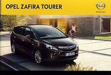 Opel Zafira Tourer 08 / 2011 catalogue brochure polnisch polonais