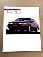 1993 Ford Taurus LX and SHO Original Sales Brochure Catalog Book