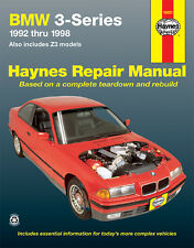 Repair Manual Haynes 18021 fits 92-98 BMW 318i