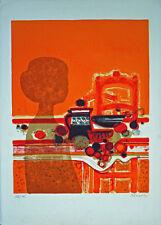 Frédéric MENGUY (1927-2007) lithographie originale 75 x 54 cm sur BFK RIVES