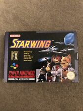 Starwing - Super Nintendo SNES - complete & sealed at one end