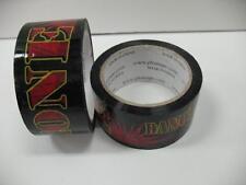 Lot (2) Phat Tape Danger Zone Hockey Shin Guard Black Red 2 Inch 30 Yard Roll