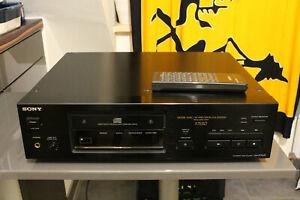 sony cdp x7 esd cd player mit Fernbedienug
