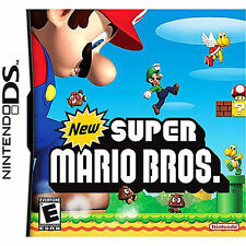 BNIB~ NINTENDO DS LITE DSi XL 3DS 2DS:~ SUPER MARIO BROS ~ {Manufacturer Sealed}