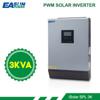 3Kva 2400w 220V Solar Power inverter 50A PWM  pure sine wave 24V 30A AC charger