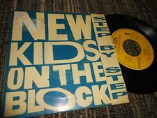 """NEW KIDS ON THE BLOCK NKOTB Step by step 7"""" 45 1990 *SPAIN* *PROMO one SIDE*"""