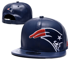 New England Patriots NFL Football Embroidered Hat Snapback Adjustable Cap