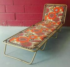 Transat Jardin vintage relax chaise longue Lafuma retrocamping