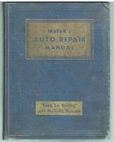 MoToR's Auto Repair Manual 11th Ed. 3rd Pr. 1948 Rare Vintage Book