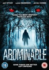 Abominable (DVD) (NEW AND SEALED) (REGION 2)