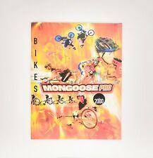 Mongoose Bicycles Pro 2000 Catalog Bmx Road Mountain Bike