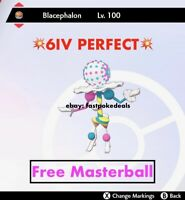 -Pokemon Sword and Shield- 💥6IV PERFECT💥Ultra Beast Blacephalon FAST DELIVERY