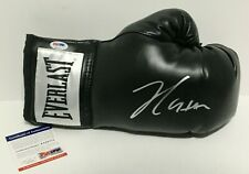 Julio Cesar Chavez Signed Black RH Everlast Boxing Glove *HOF 2011 PSA 8A33771