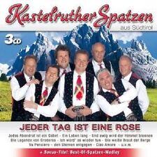 """KASTELRUTHER SPATZEN """"JEDER TAG IST EINE ROSE"""" 3 CD NEU"""