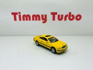 HONGWELL MERCEDES BENZ CLK COUPE IN YELLOW 1:72 DIECAST 68