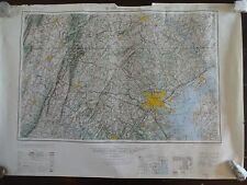 1953 - Large Geographic Map of Baltimore, MD - Army Map Service