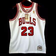 100% Authentic Michael Jordan Mitchell Ness 96 97 Finals Bulls Home Jersey 48 XL