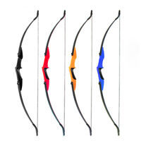 Beginner Practice Bow Archery Recurve Bow Longbow Hunting Takedown Bow 20-40lbs